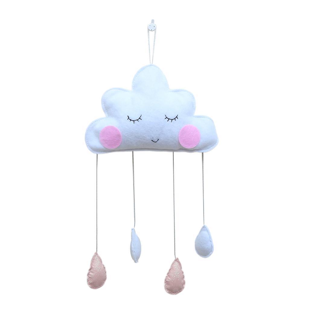 Cotton-Cloud-Raindrop-Bedroom-Hanging-Pedants-Indoor-Home-Decoration thumbnail 9