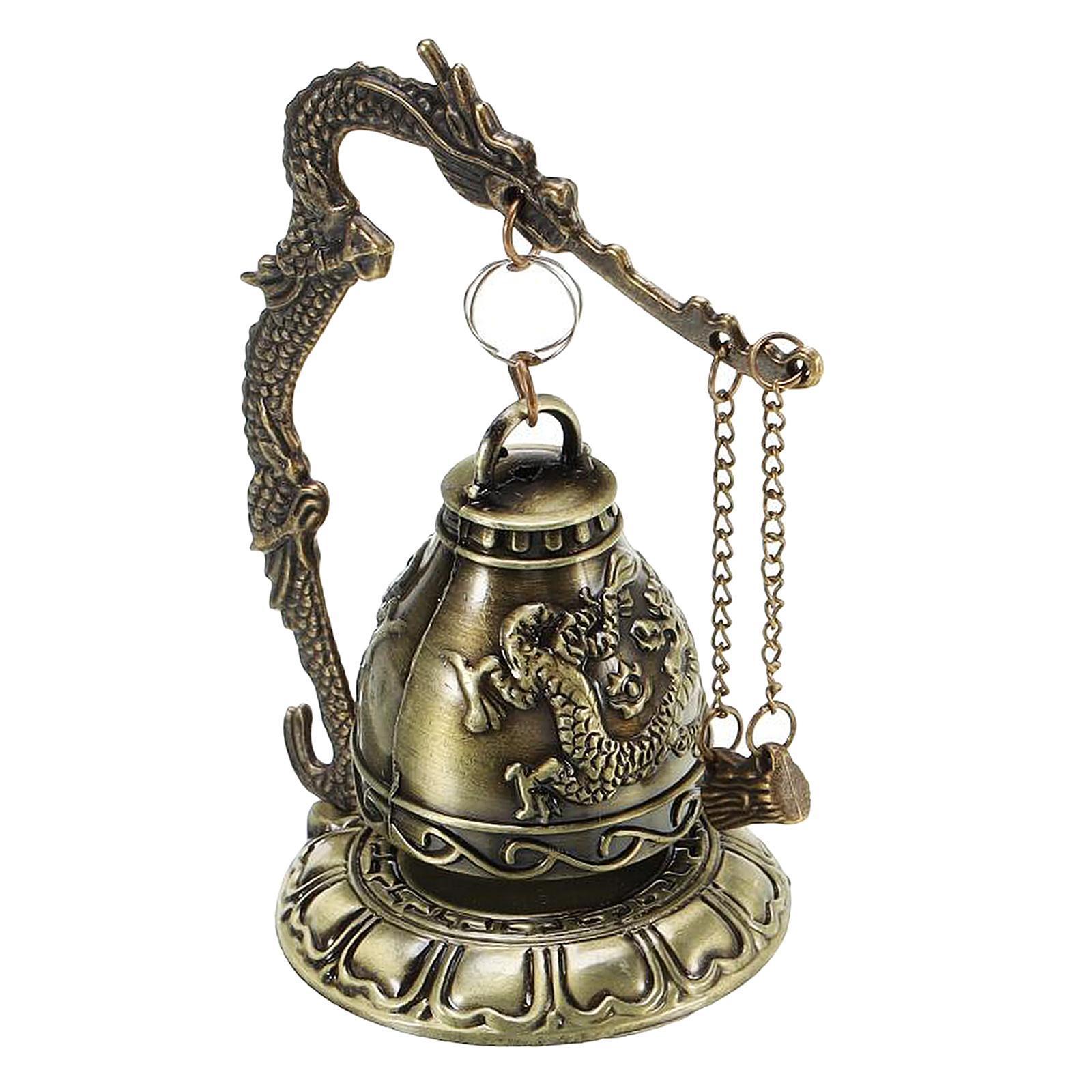 miniatura 19 - Buddha Drago Fengshui campana giocattoli tibetano per Home GIARDINO