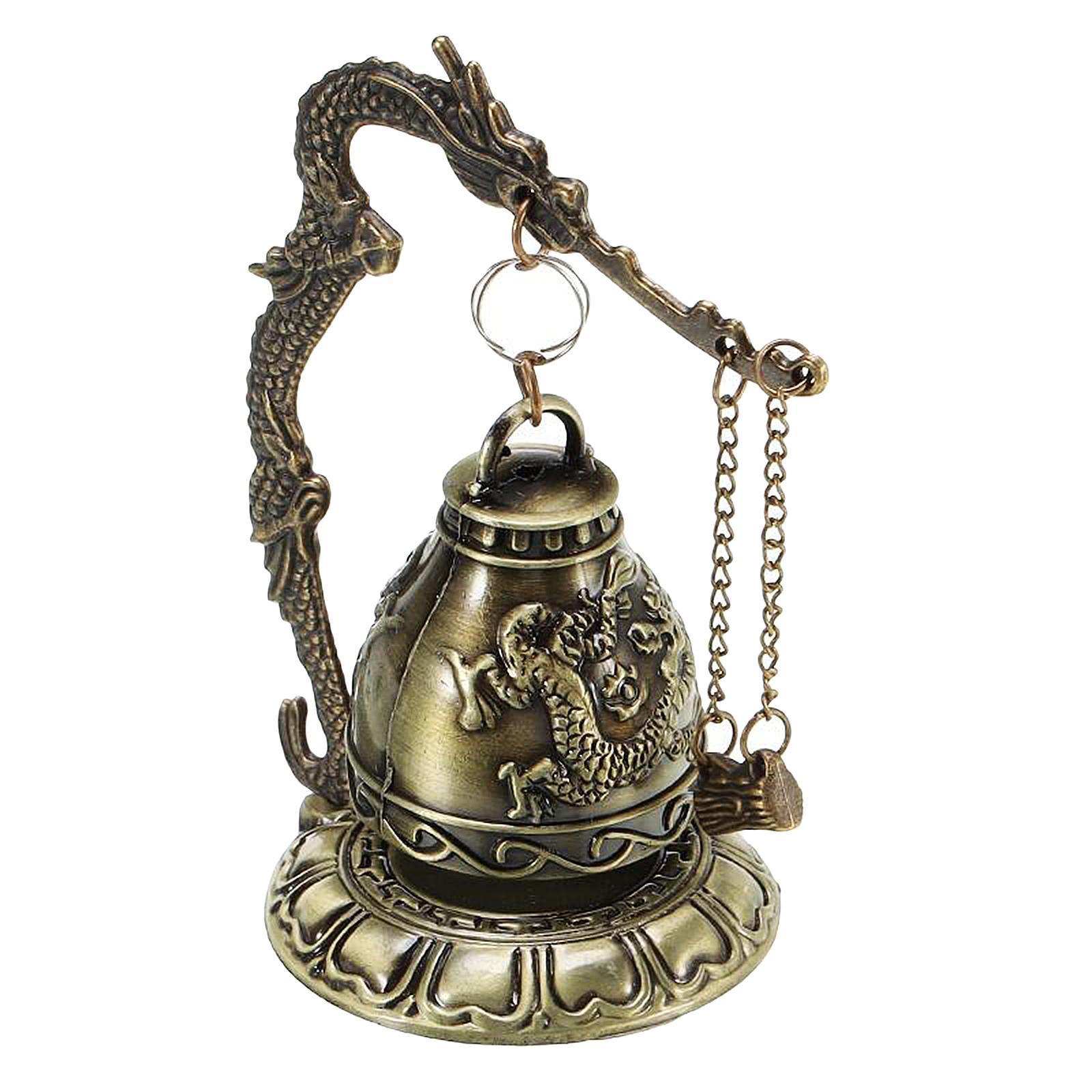 miniatura 14 - Buddha Drago Fengshui campana giocattoli tibetano per Home GIARDINO