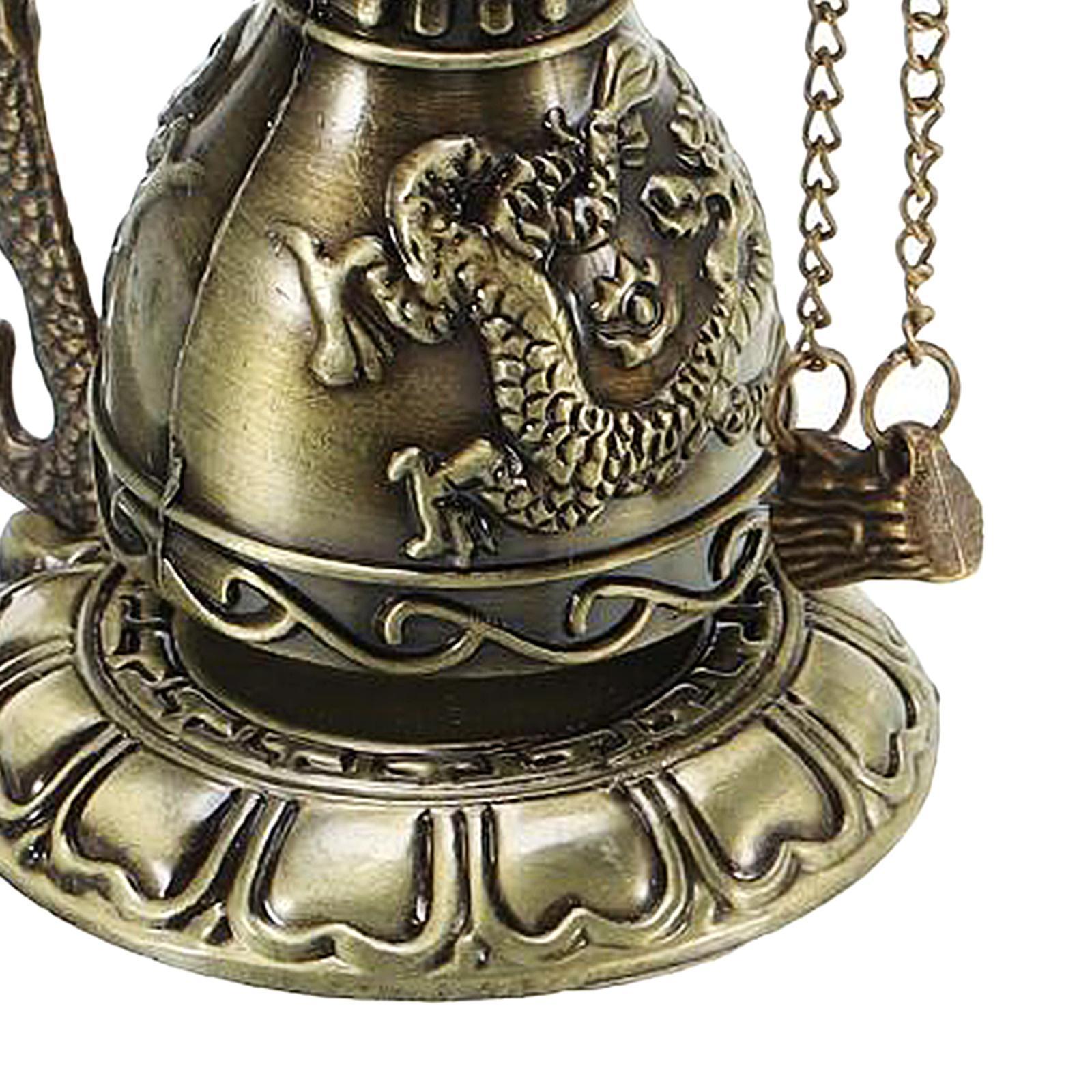 miniatura 13 - Buddha Drago Fengshui campana giocattoli tibetano per Home GIARDINO