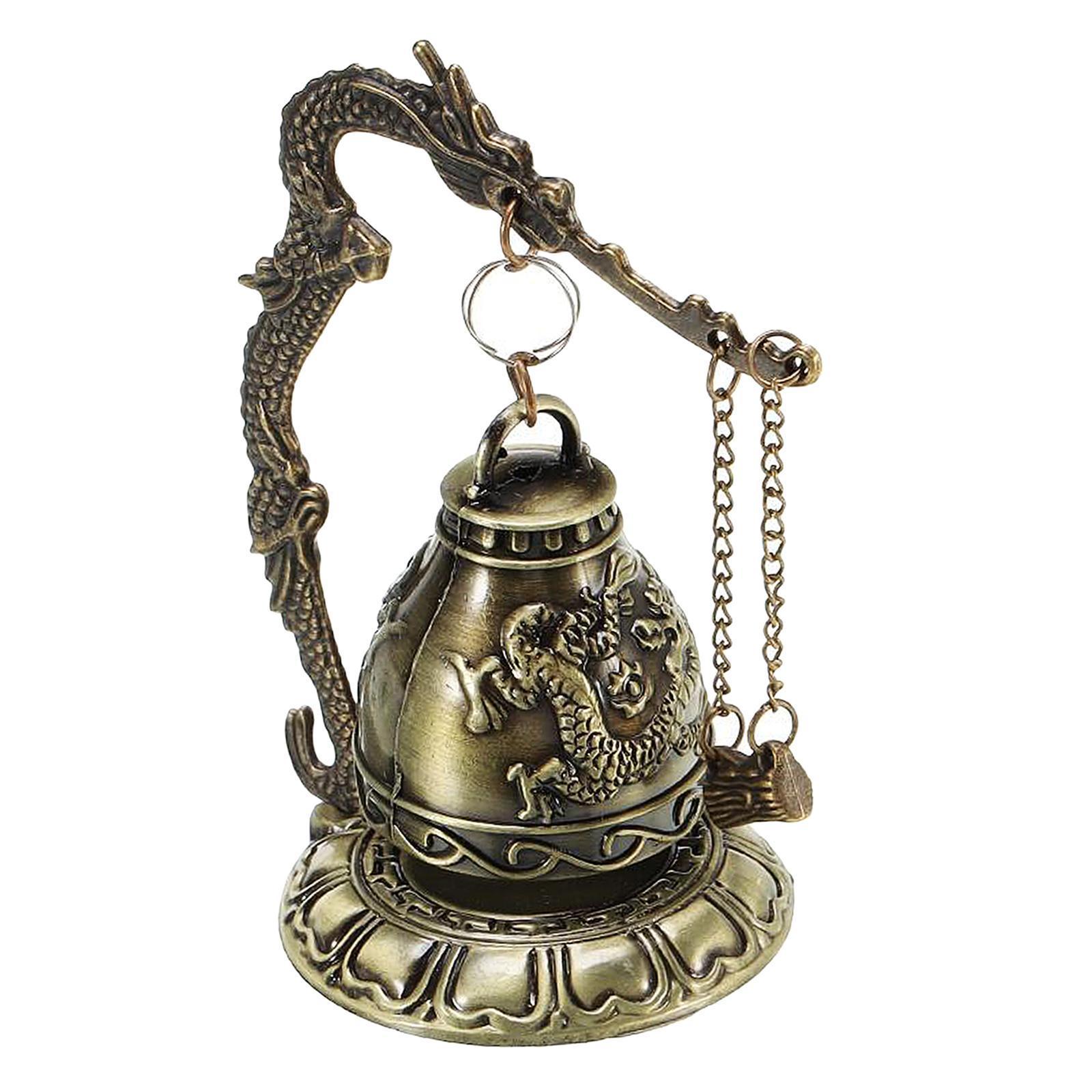 miniatura 16 - Buddha Drago Fengshui campana giocattoli tibetano per Home GIARDINO