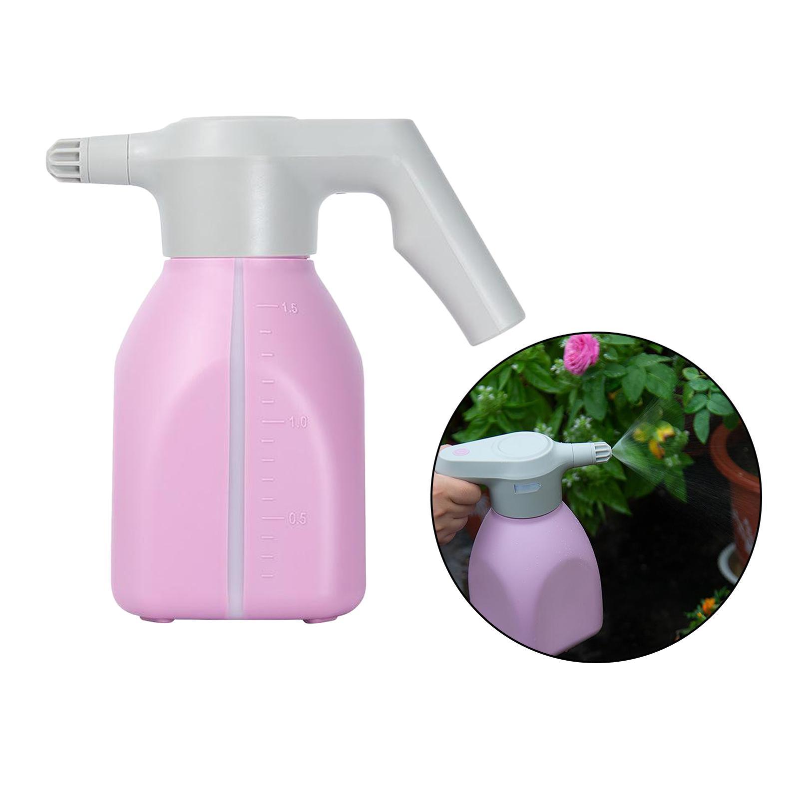 1.5L Electric Plant Sprayer Watering Spray Bottle Auto Fertilizing Sprayer