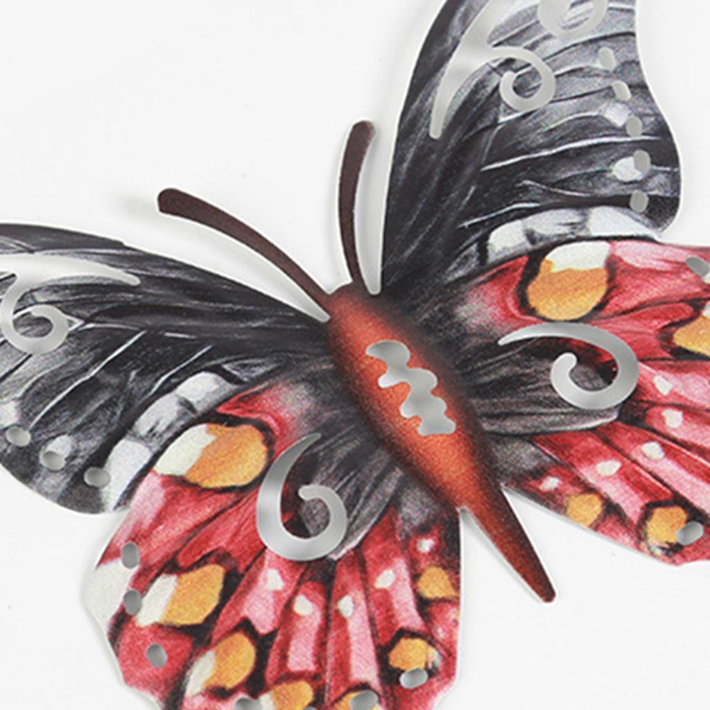 miniatura 9 - Farfalla Natura Opere D'arte Della Parete Appeso Animale Scultura per la