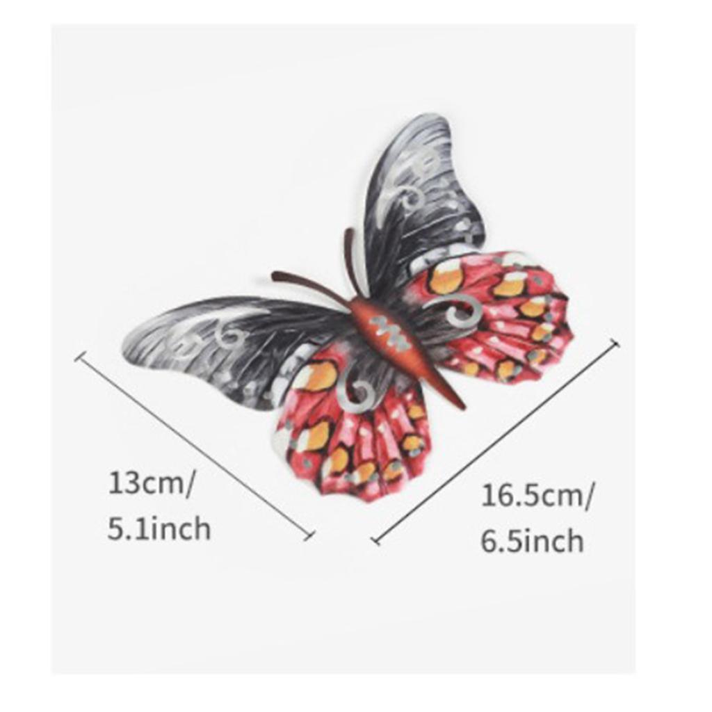 miniatura 12 - Farfalla Natura Opere D'arte Della Parete Appeso Animale Scultura per la