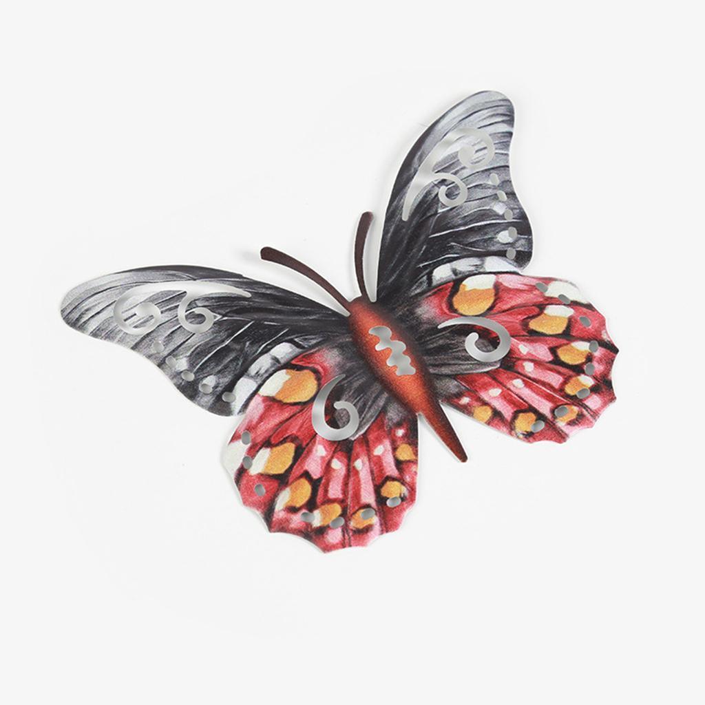 miniatura 8 - Farfalla Natura Opere D'arte Della Parete Appeso Animale Scultura per la