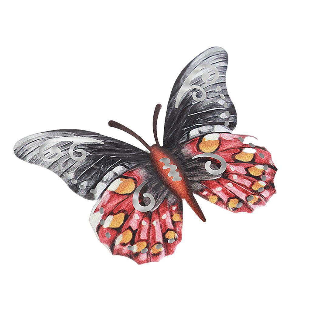 miniatura 7 - Farfalla Natura Opere D'arte Della Parete Appeso Animale Scultura per la
