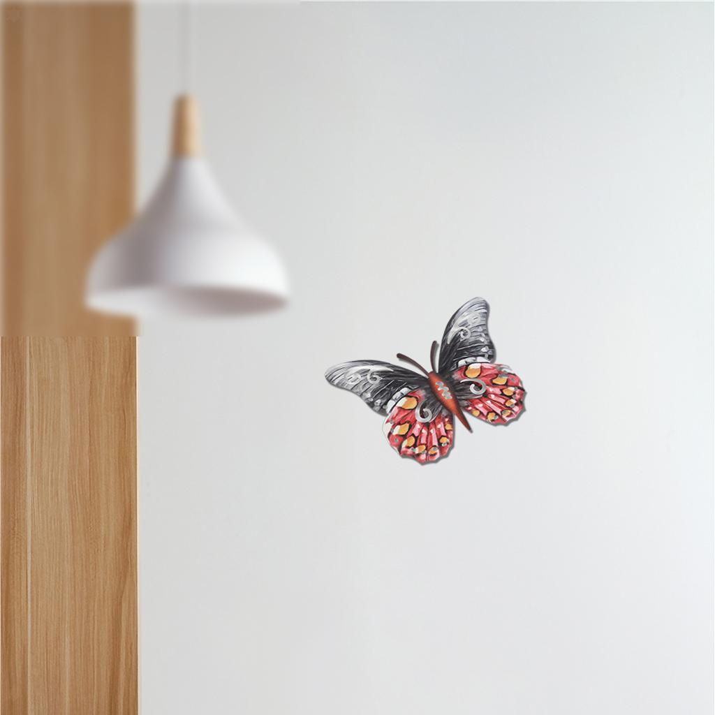 miniatura 6 - Farfalla Natura Opere D'arte Della Parete Appeso Animale Scultura per la