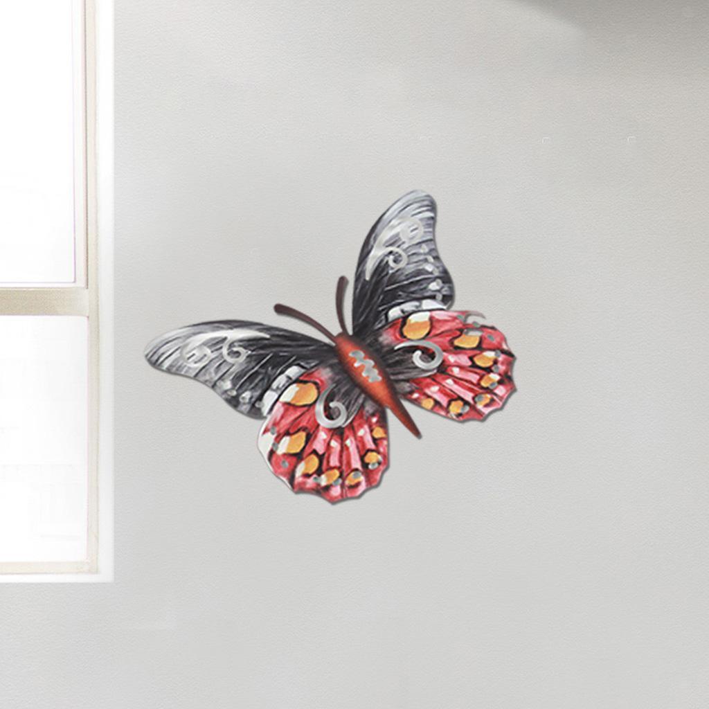 miniatura 10 - Farfalla Natura Opere D'arte Della Parete Appeso Animale Scultura per la