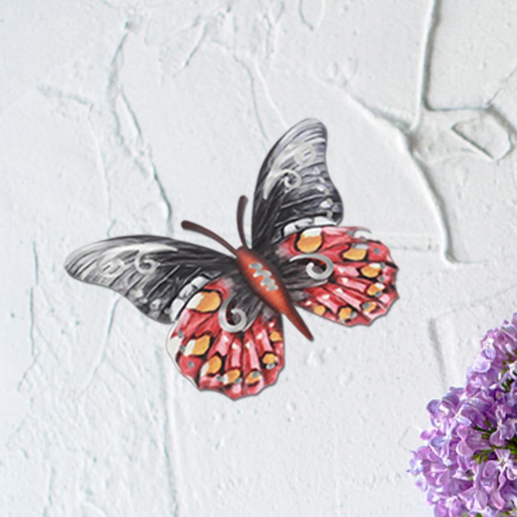miniatura 4 - Farfalla Natura Opere D'arte Della Parete Appeso Animale Scultura per la