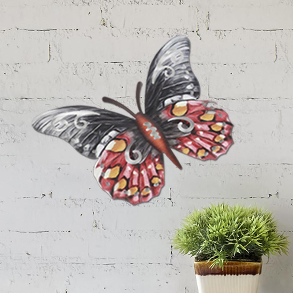 miniatura 5 - Farfalla Natura Opere D'arte Della Parete Appeso Animale Scultura per la