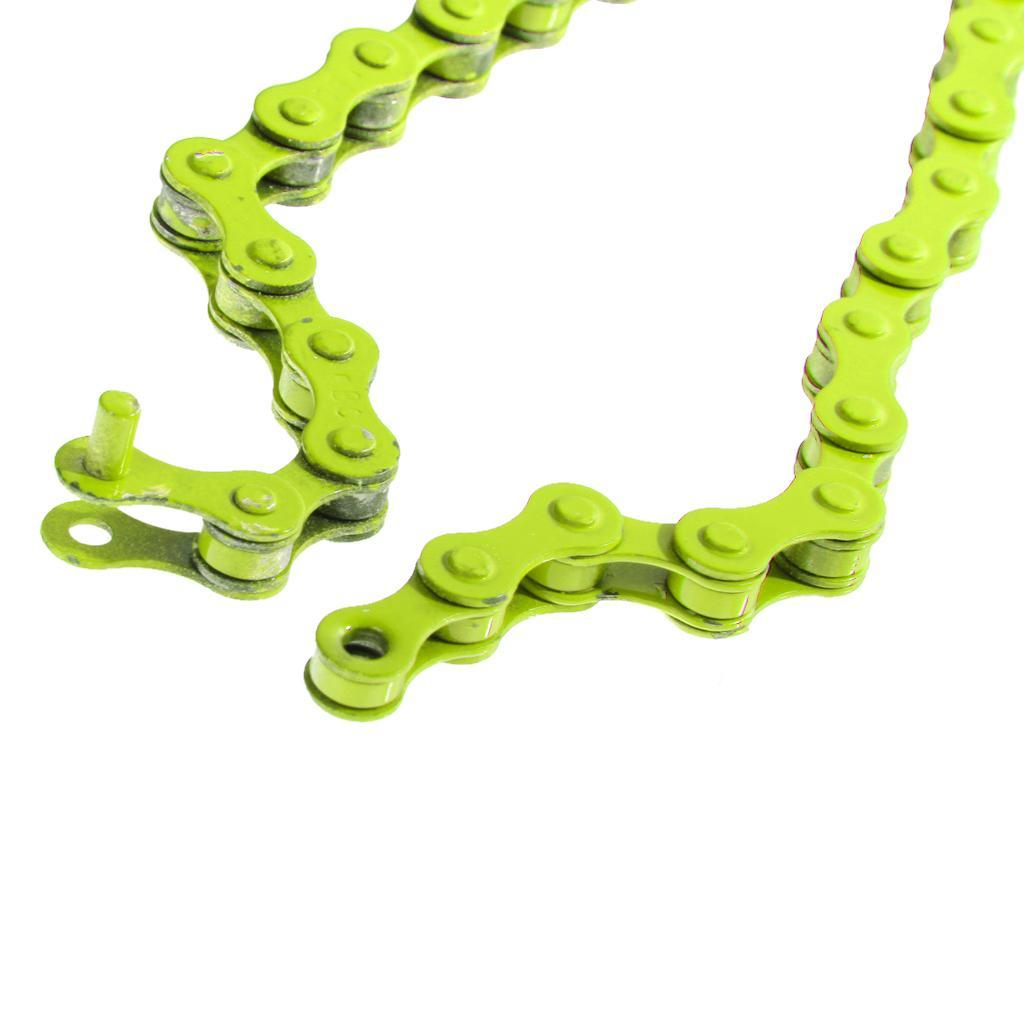 Bike Chain Fixed Gear BMX Bicycle Single Speed Steel Chains 96 Links 1//2inx1//8in