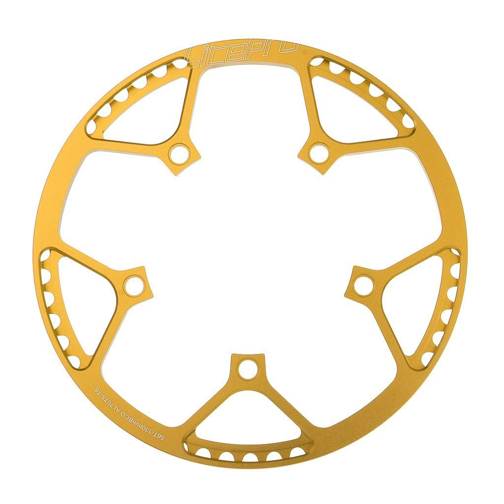 LitePro faltbar Straße Fahrrad Kettenblatt Kette Ring BCD 130mm 45 47 53 56 58T