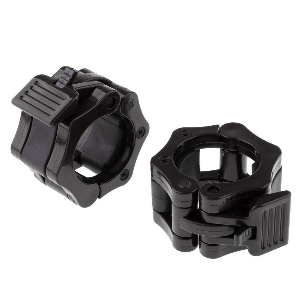 Hantelverschluesse-25-mm-30-mm-50mm-Kunststoff-Schnellverschluesse Indexbild 4