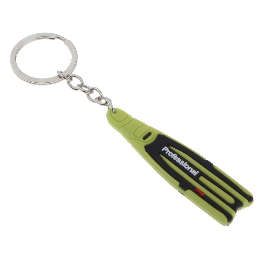 Dive-Fin-Key-Chain-Keychain-Keyring-Diving-Fans-Bag-Tag-Jewelry-Diver-Gift thumbnail 10
