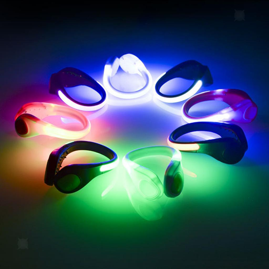 LED Shoes Clip Lights for Biking Cycling Jogging Hiking Running Camping Outdoor