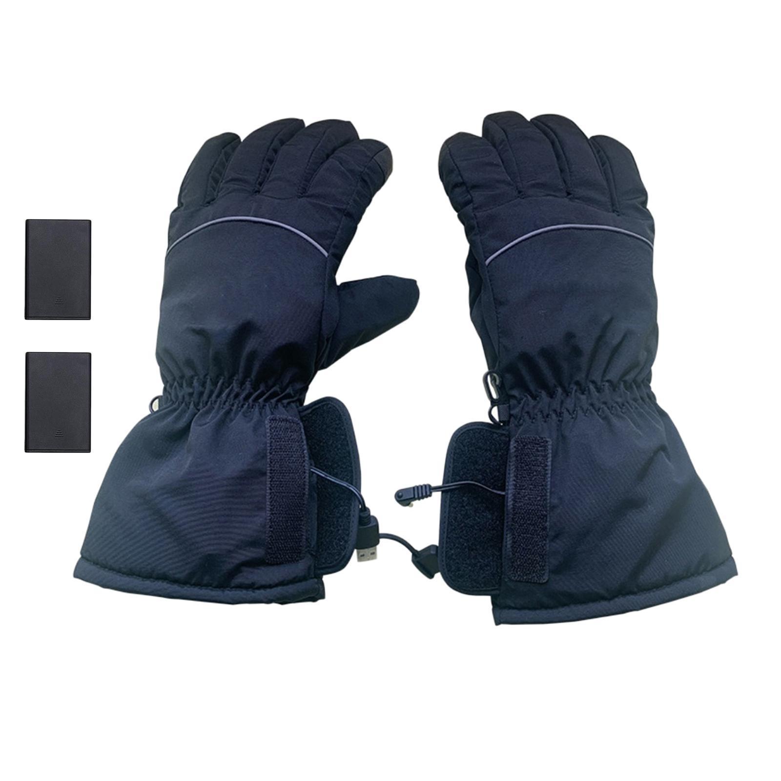 Indexbild 5 - Motorrad Elektrische Beheizte Handschuhe Akku Warme Handschuh Wind