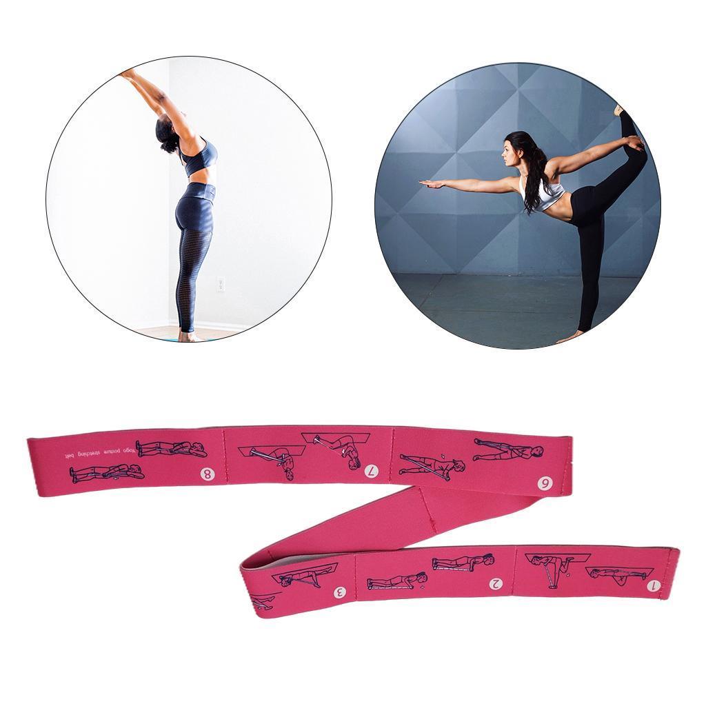 miniatura 43 - Pulsera stretch elástica bailar banda pilates Dance pierna prolongar camilla