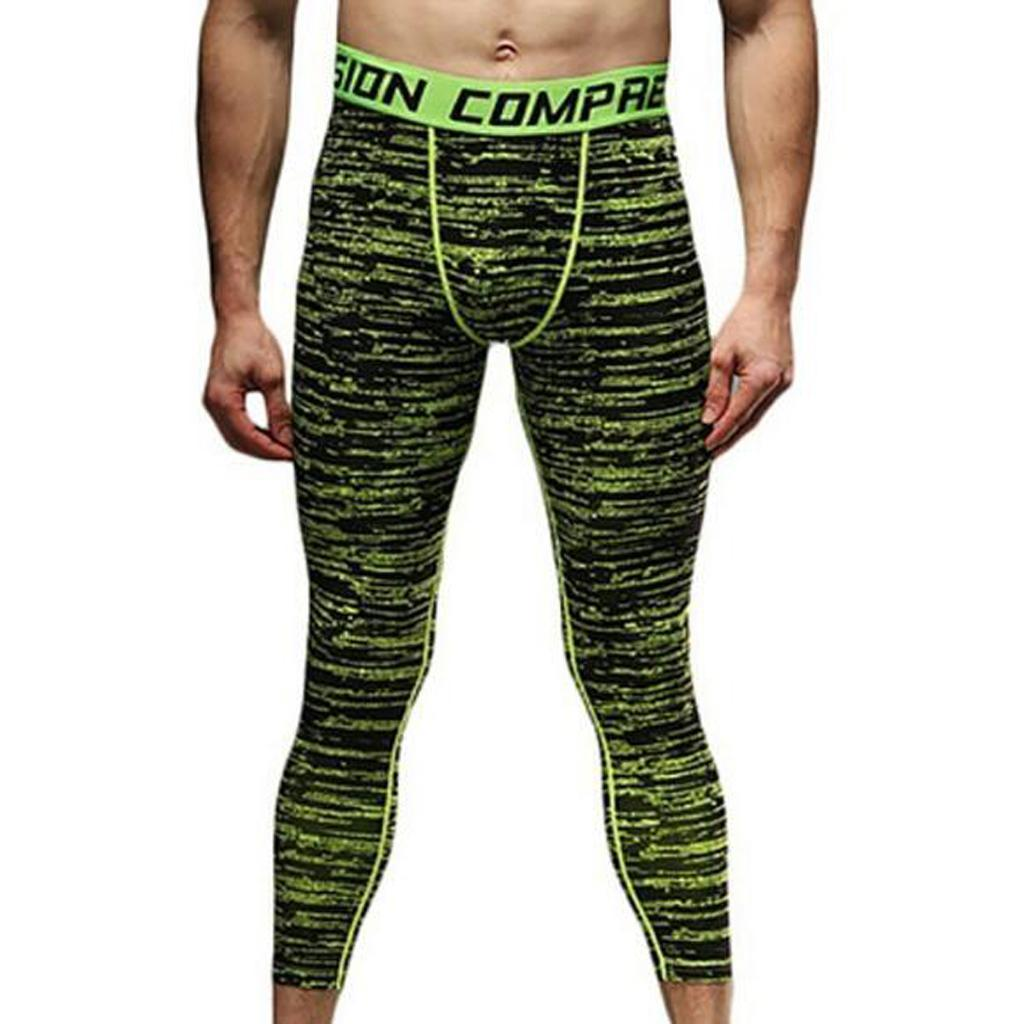 Männer Leggings lang Unterhose Unterwäsche Strumpfhose Gym