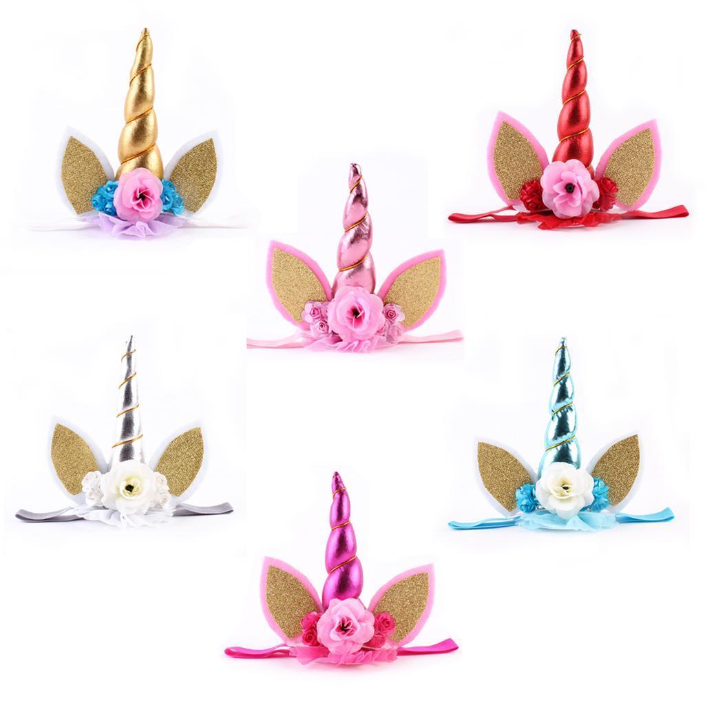 Bandeaux-Cheveux-Serre-Tete-Enfant-Fille-Couronne-Forme-Photo-Prop-Bebe-Bijoux miniature 4