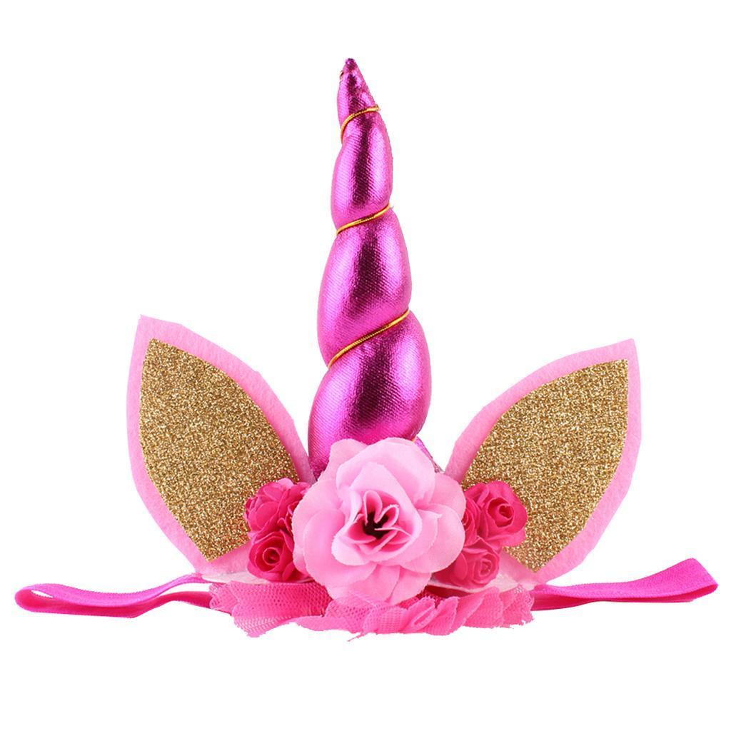 Bandeaux-Cheveux-Serre-Tete-Enfant-Fille-Couronne-Forme-Photo-Prop-Bebe-Bijoux miniature 3