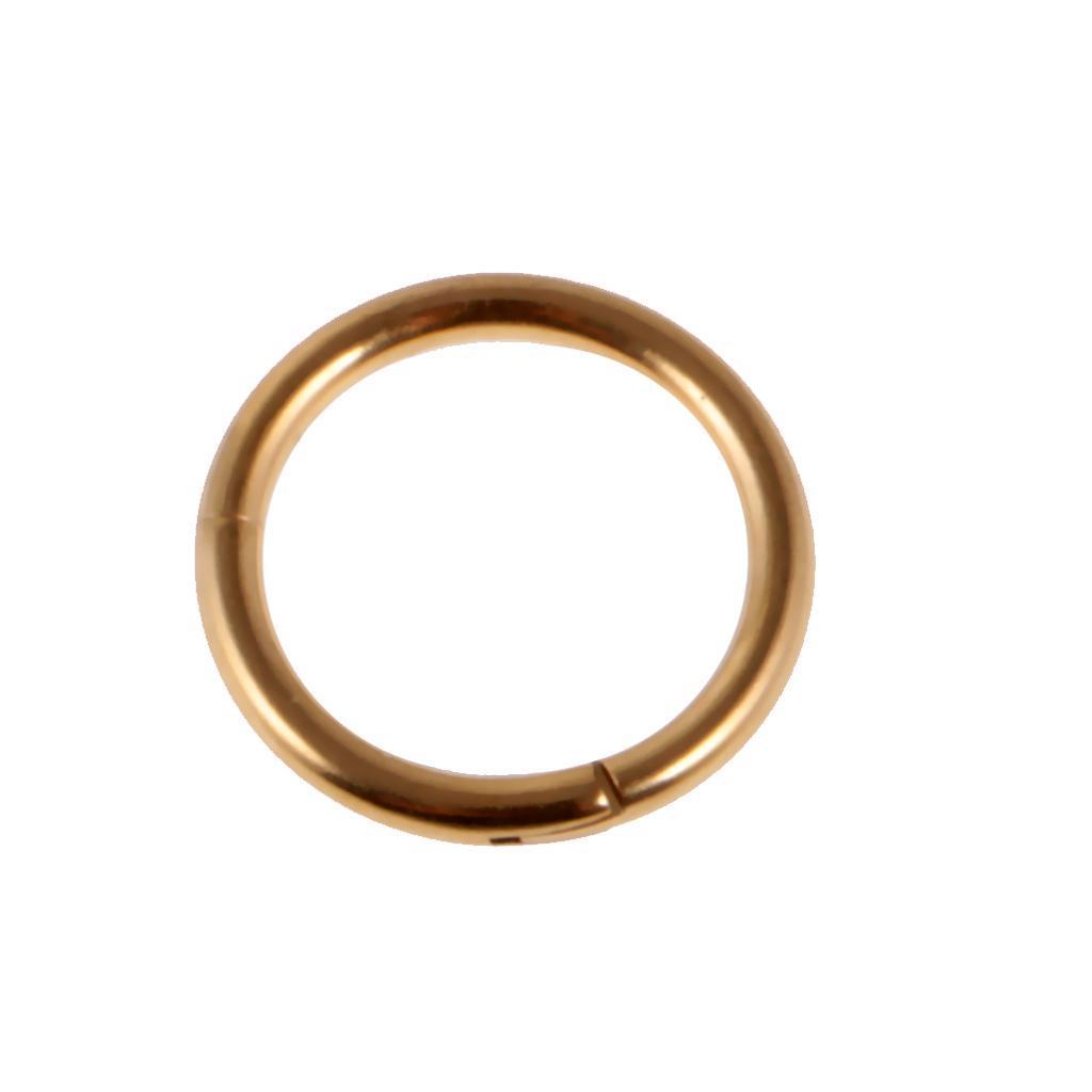 8mmx16g-Seamless-Hinged-Segment-Clicker-Ring-Hoop-Ear-Lip-Nose-Septum-Piercing thumbnail 8