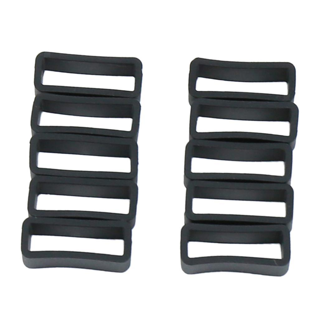 thumbnail 9 - 10pcs-Siliccone-Watch-Band-Watch-Replacement-Tool-Sport-Braclet-24-30mm