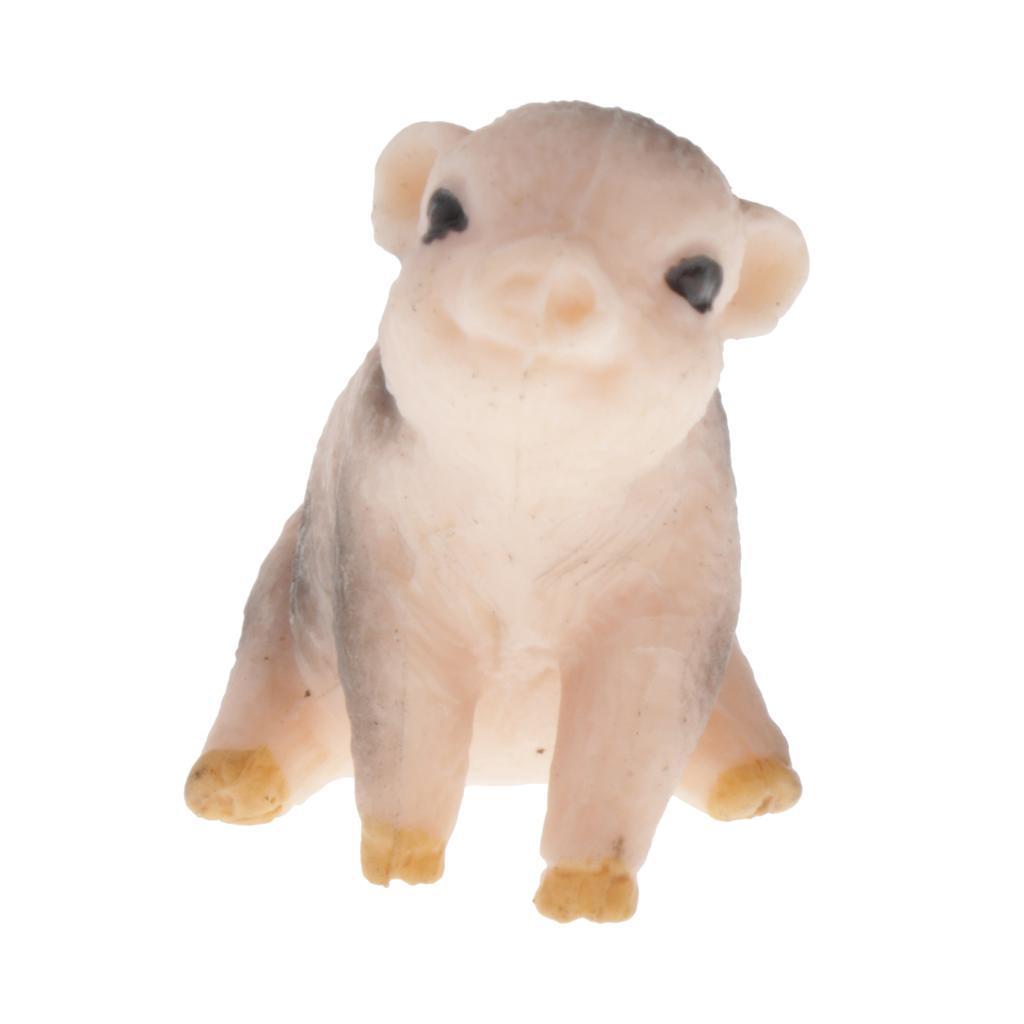 Modello-di-animali-selvatici-giocattolo-educativo-regalo-per-bambini-neonati miniatura 8