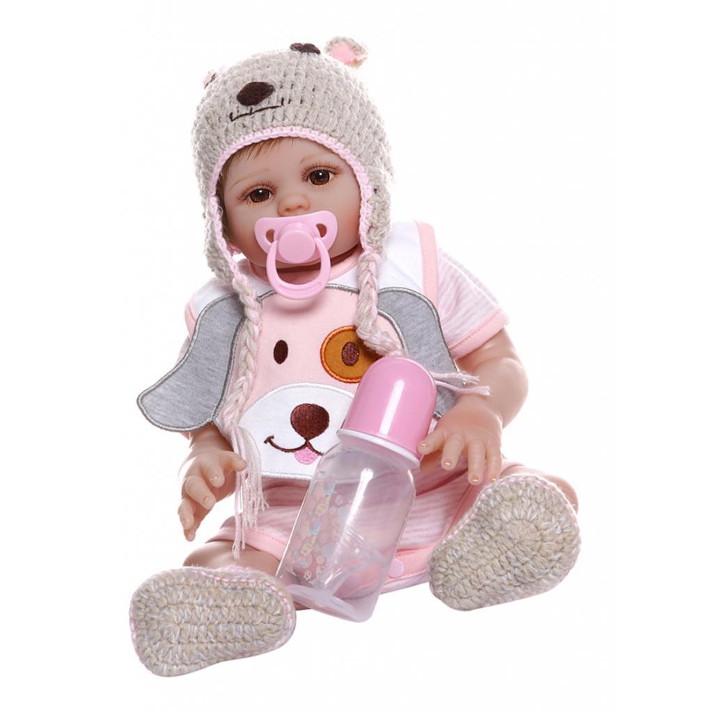 Realistic-Reborn-Dolls-Girls-19-039-039-Looking-Lifelike-Big-Eyes-White-Skin-Doll thumbnail 4