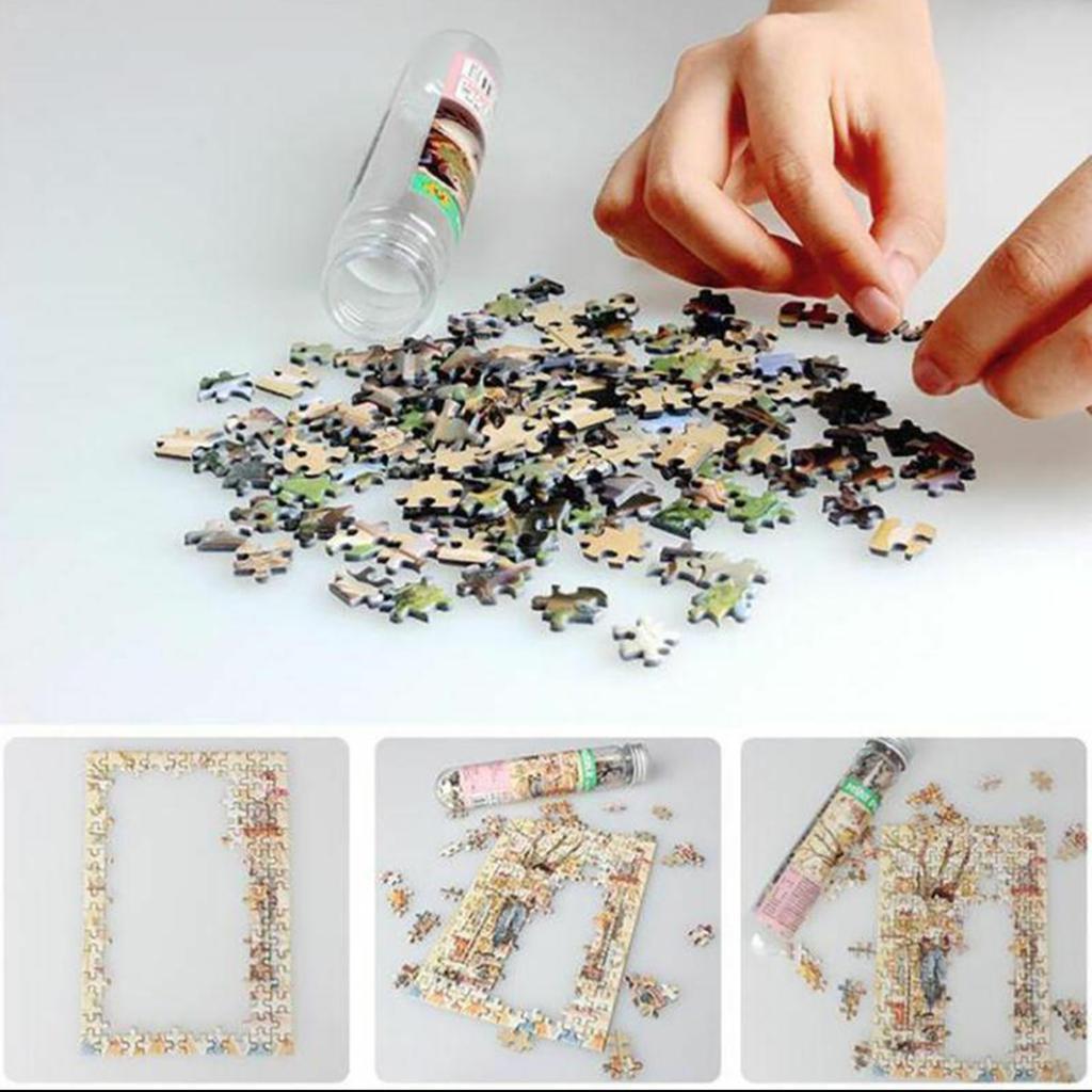 miniatura 69 - Pittura A olio di Puzzle Puzzle di Prova Tubo Capsula Gioco Di Puzzle