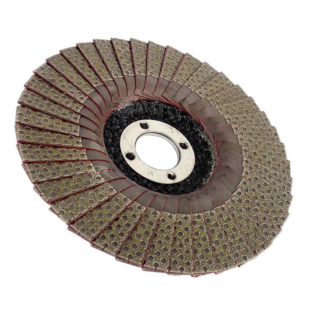 Abrasivi-A-Disco-Lamellare-Diamantati-Lamiera-per-Rettifica-Carburo-Cementato miniatura 13