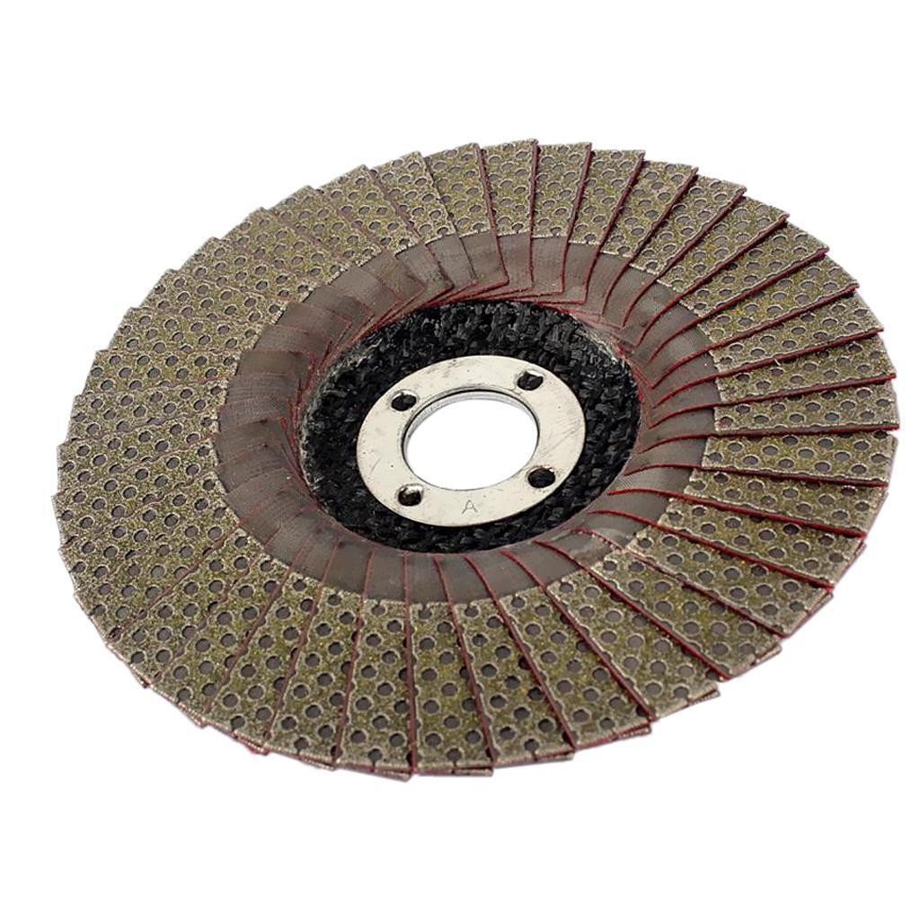 Abrasivi-A-Disco-Lamellare-Diamantati-Lamiera-per-Rettifica-Carburo-Cementato miniatura 12
