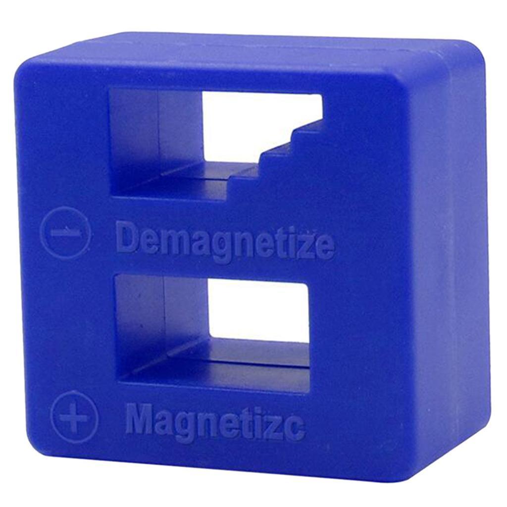 Screwdriver Magnetic Tool Degausser Screw Bit Batch Magnetizer Fast Demagne M8K1