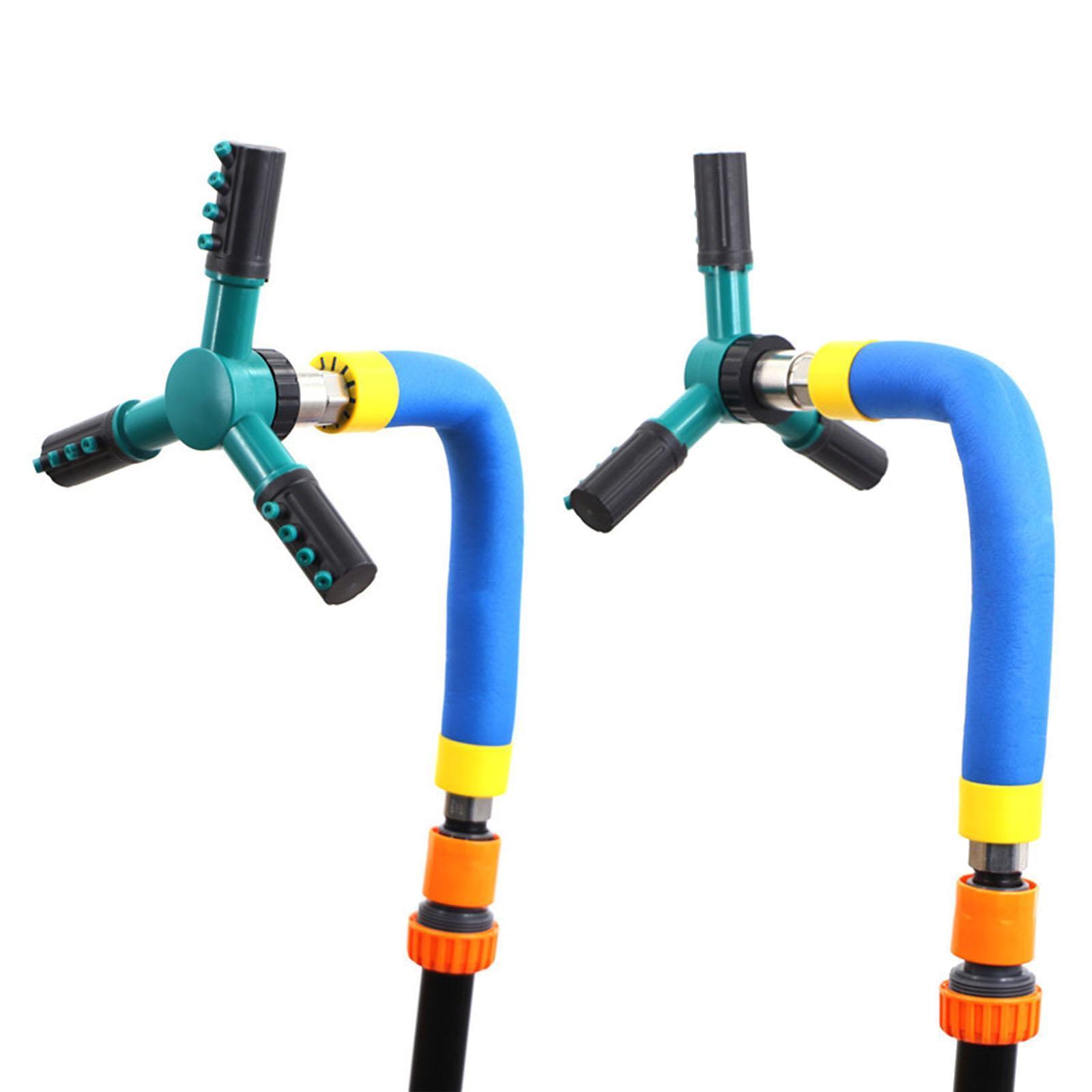 miniatura 10 - Rotazione automatica Trampolino Sprinkler Acqua Esterna Giardino Parco di