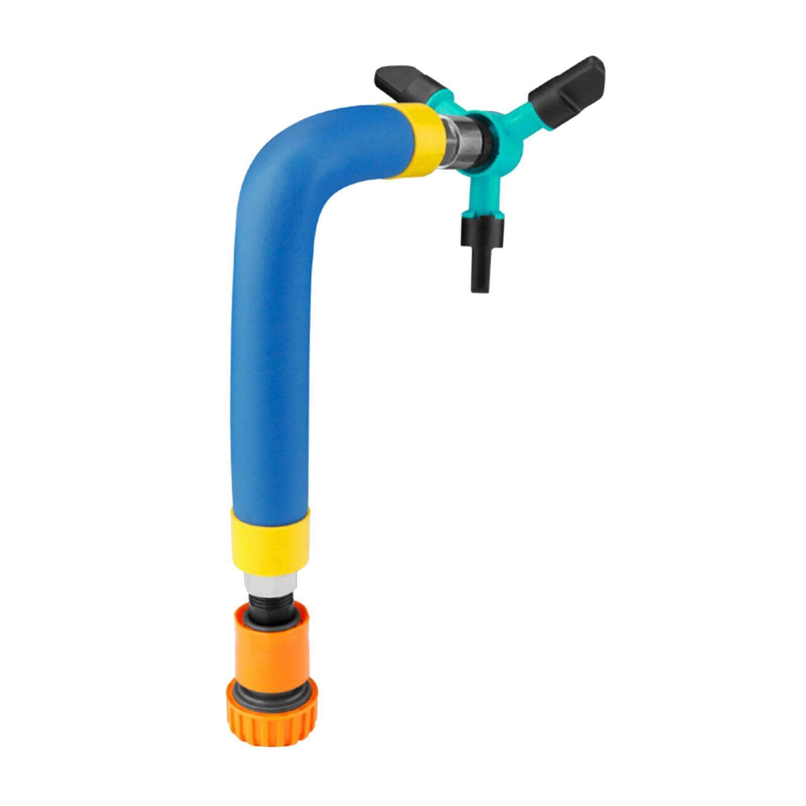 miniatura 6 - Rotazione automatica Trampolino Sprinkler Acqua Esterna Giardino Parco di