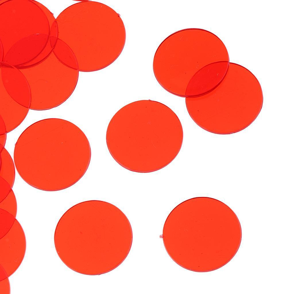 100-Stueck-Kunststoff-Zaehler-Chips-Bingo-Marker-Fuer-Mathematik-Oder-Spiele Indexbild 13