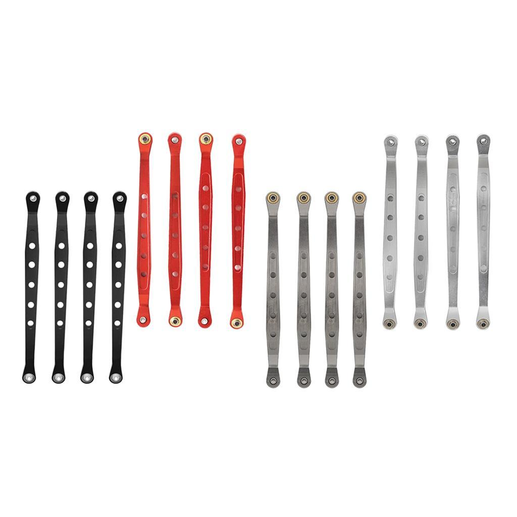 Aluminum-Alloy-Lower-Pull-Rod-Links-Linkage-for-1-10-RC-Car-Axial-Crawler-Parts thumbnail 6