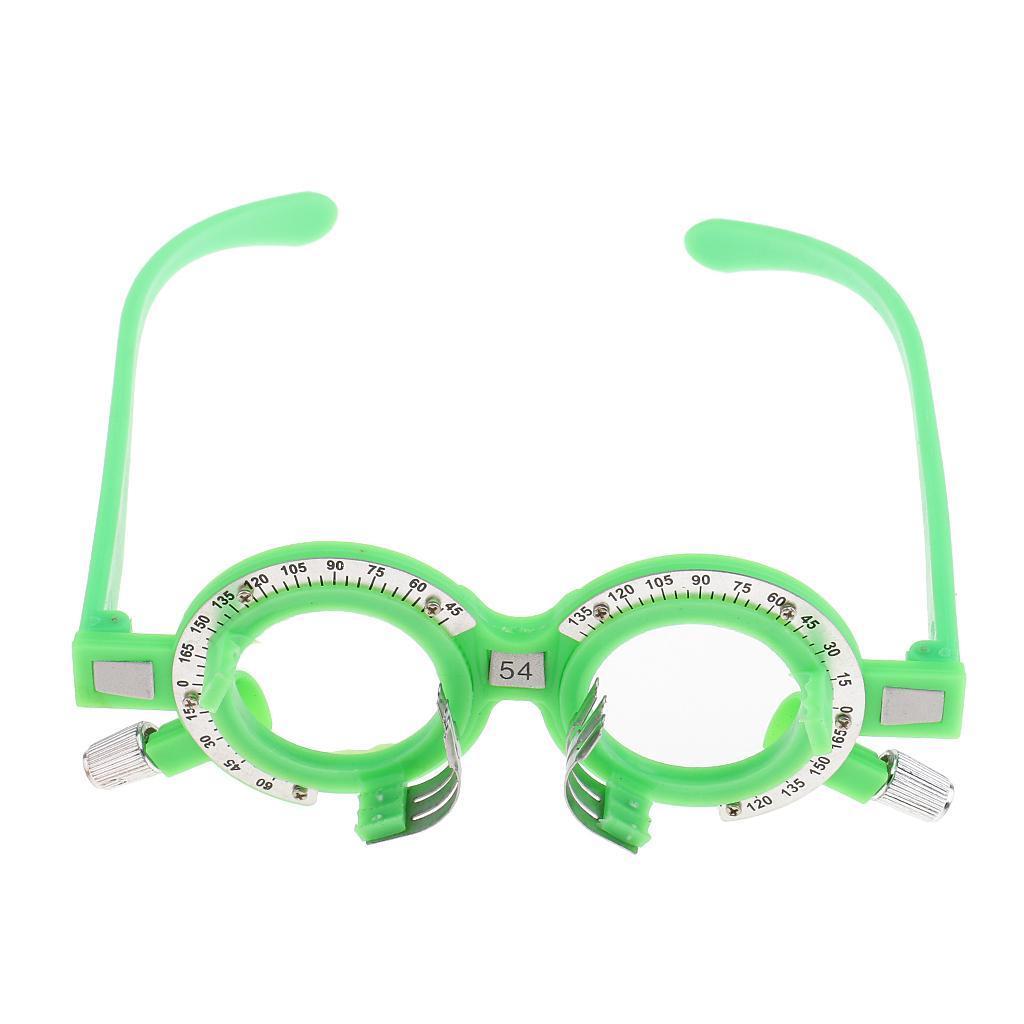 Optical-Optical-Lens-Trial-Optometry-Occhiali-per-Occhi-Equipaggiamento miniatura 6