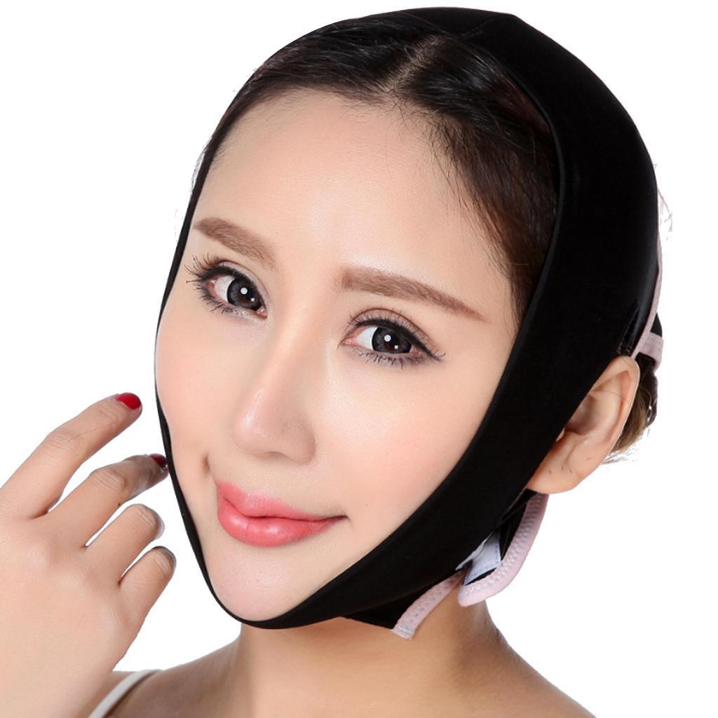 V-Gesicht-Kinn-Wange-Lift-Up-Abnehmen-Schlanke-Maske-Duenne-Gurtband-Band Indexbild 3