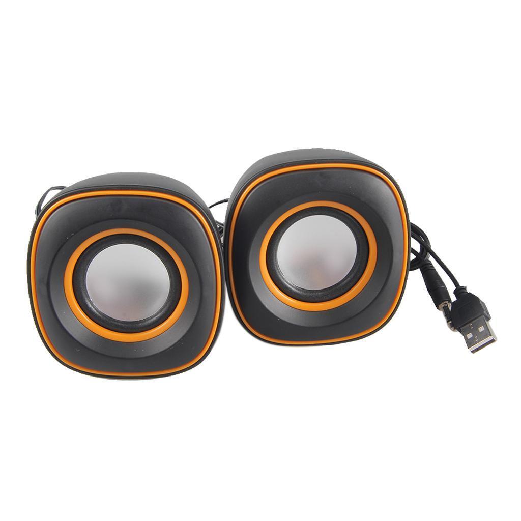Tragbare-Computerlautsprecher-USB-faehige-Desktop-Mini-Stereolautsprecher Indexbild 7