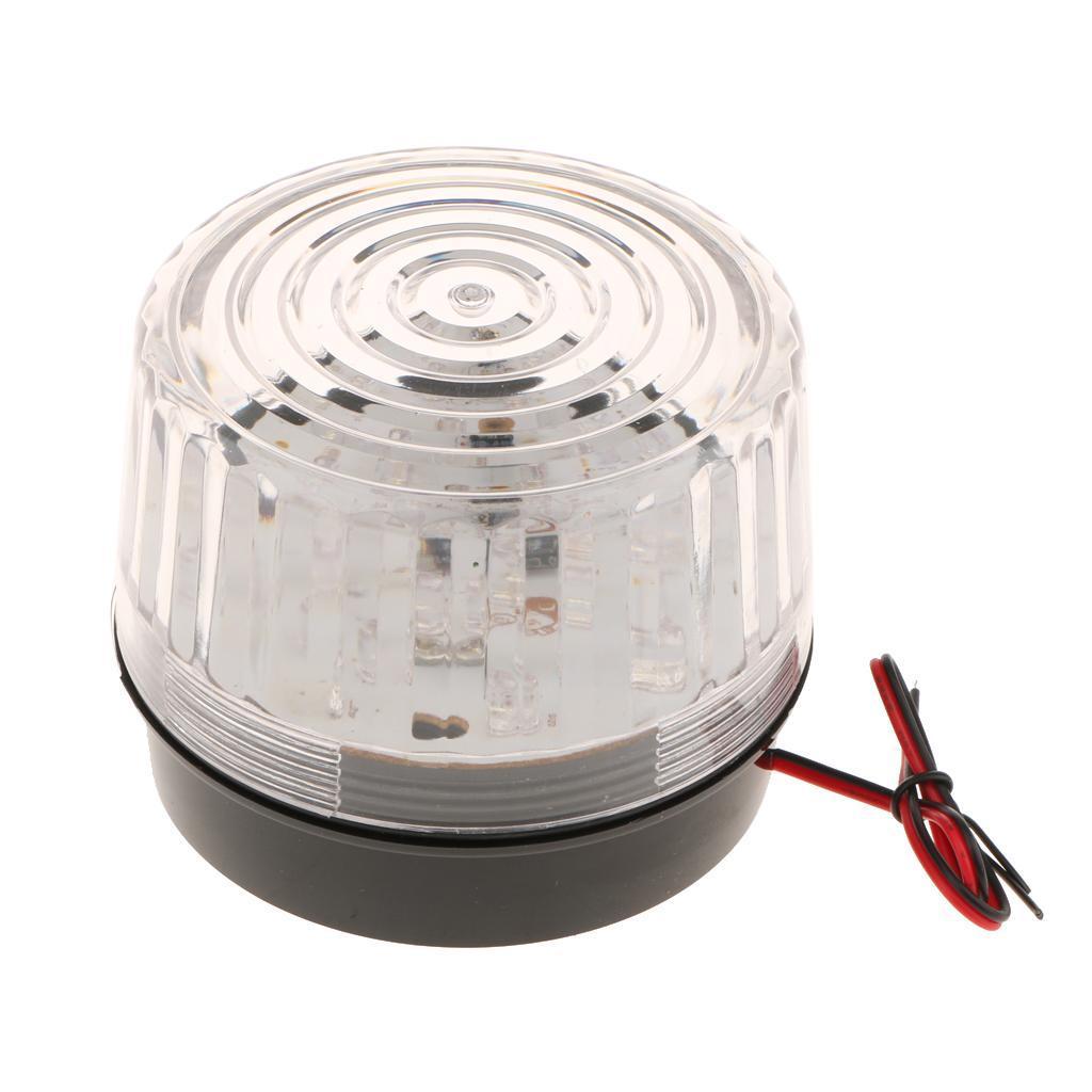 Luci LED Spia Avvertimento Segnalazione Allarme Industriali Cantiere Aeroporto Plastica A