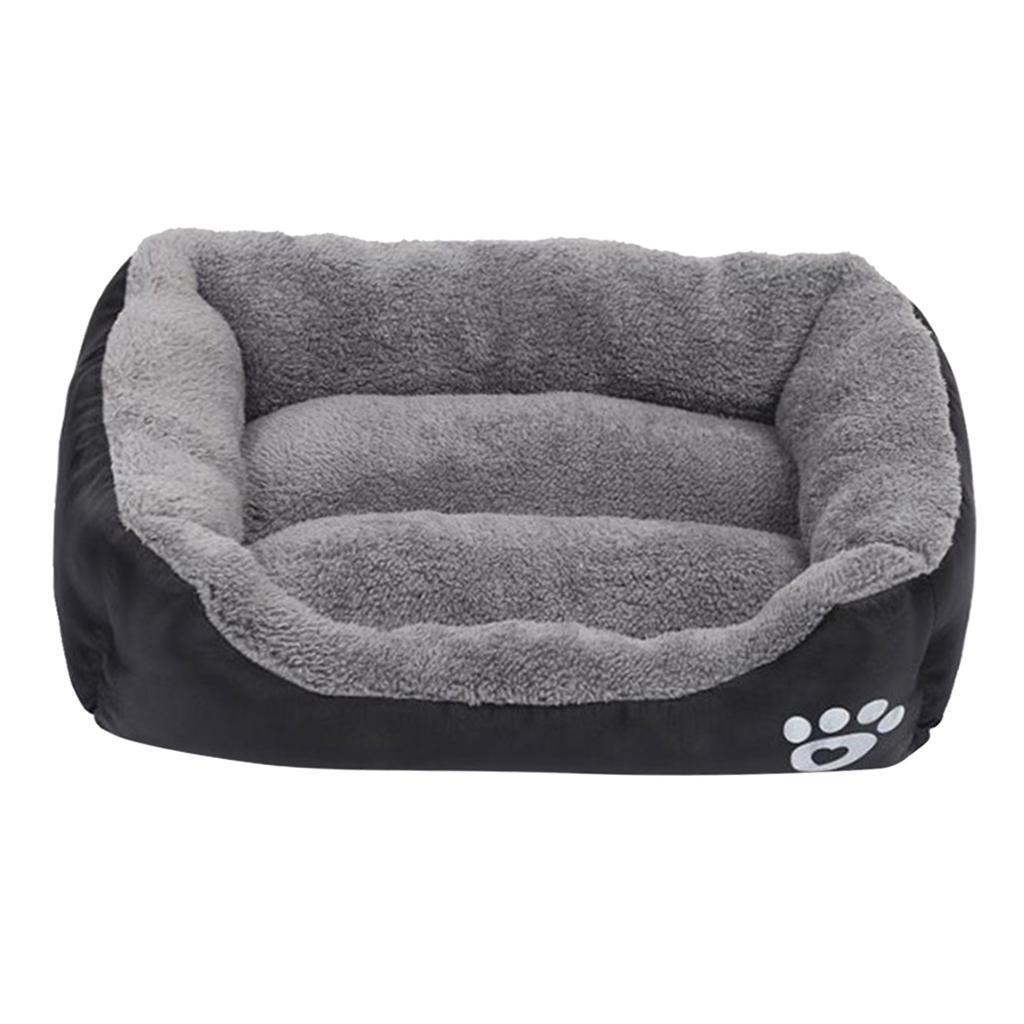 miniature 25 - Doux en peluche lit pour animaux de compagnie chien chat coussin de couchage