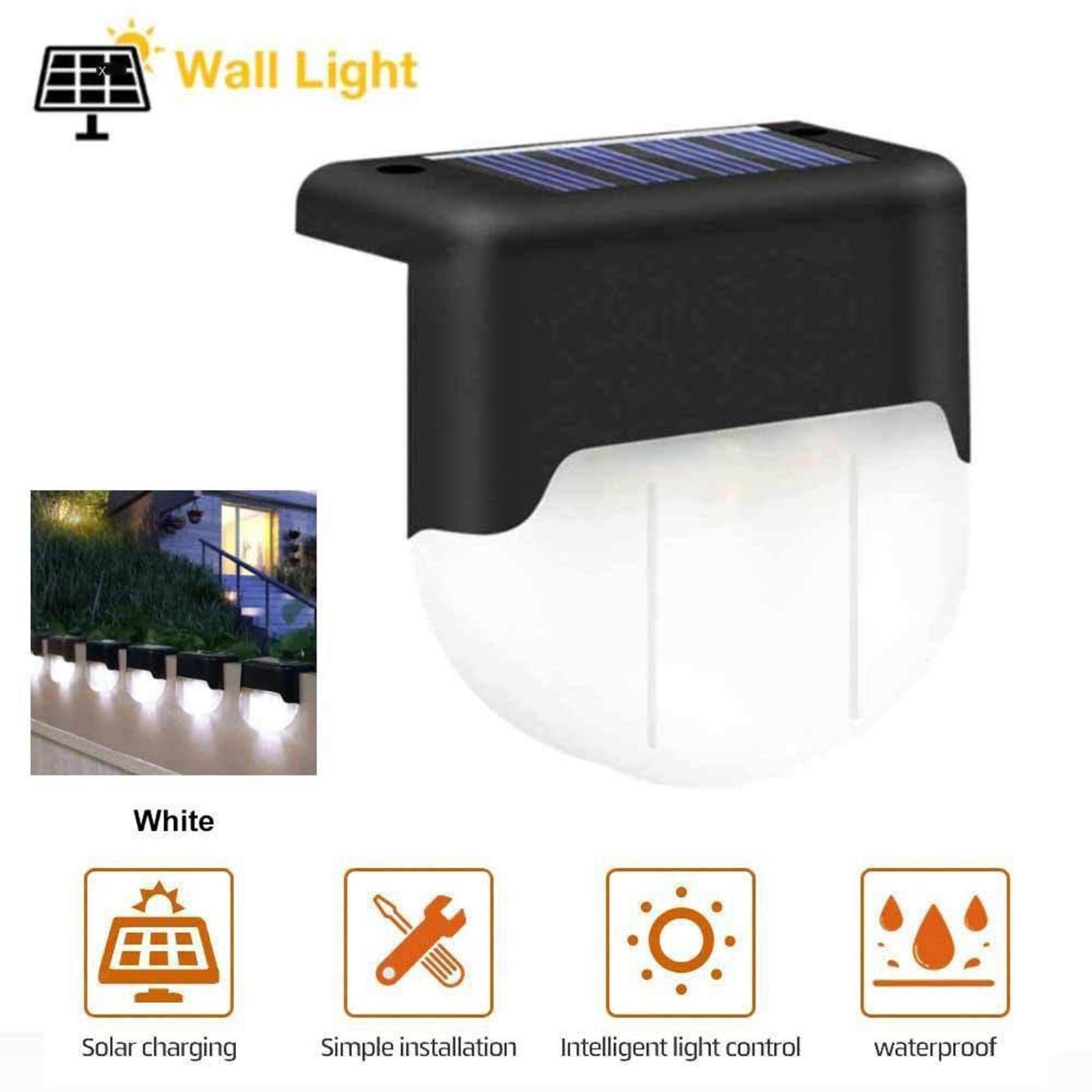 miniatura 7 - Lumiere-solaire-d-039-escalier-de-chemin-de-LED-lumieres-exterieures