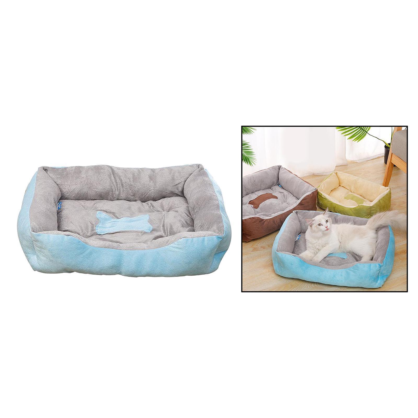 Indexbild 59 - Katze-Hund-Bett-Pet-Kissen-Betten-Haus-Schlaf-Soft-Warmen-Zwinger-Decke-Nest