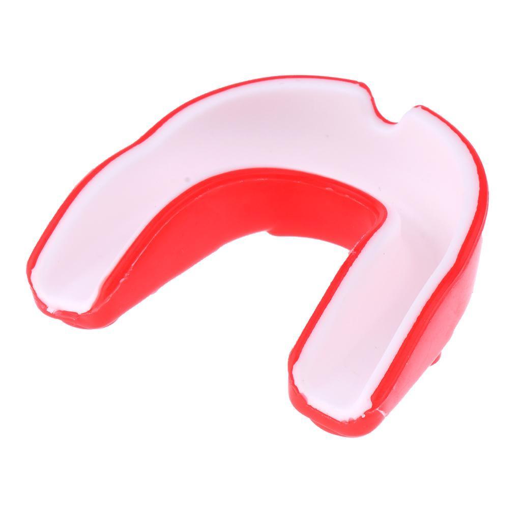 Indexbild 3 - EVA Adult Youth Mouthguard   Zahnknirschen Mundschutz Gum Shield für