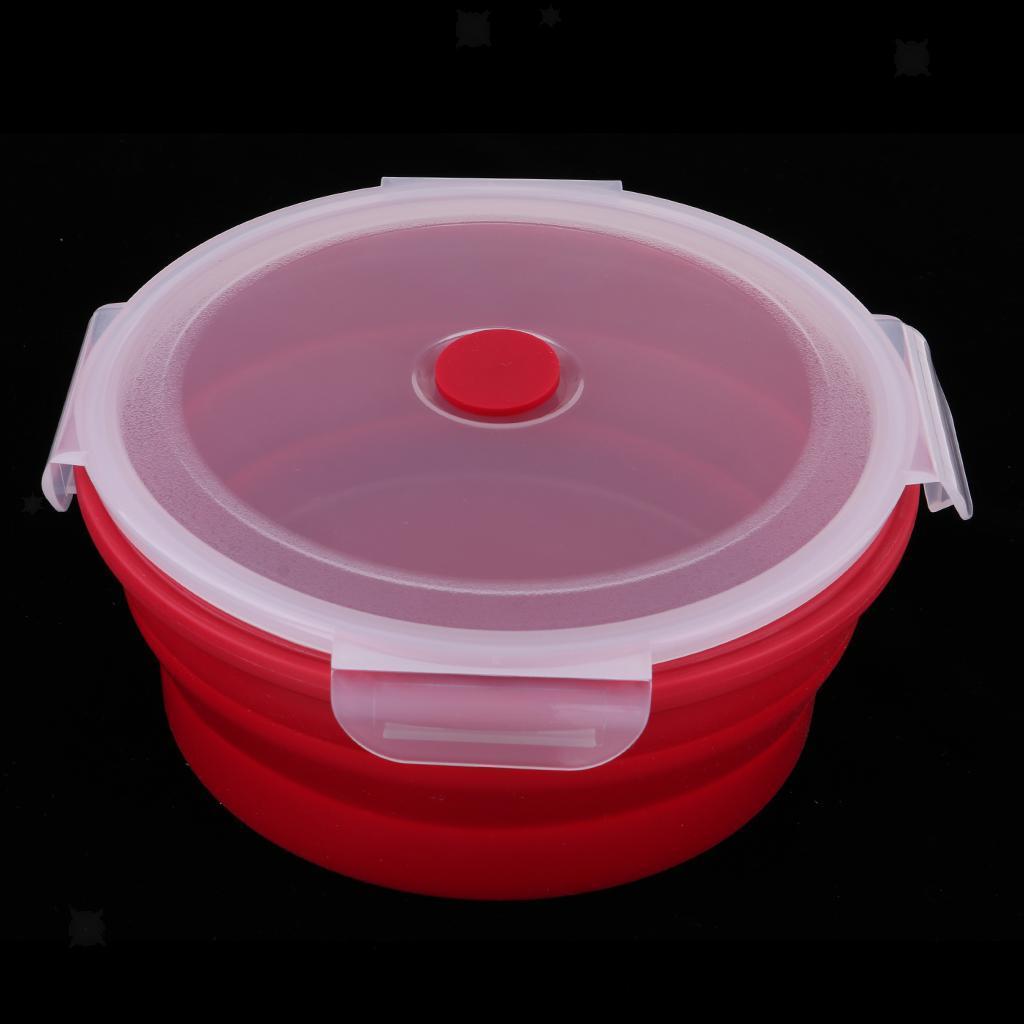 Bol-De-Camping-En-Silicone-Pliable-Qualite-Alimentaire-Et-Sans-BPA miniature 15
