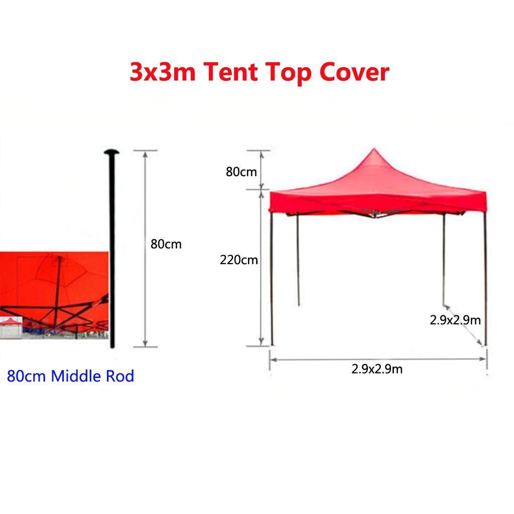 Tenda-Parasole-Vela-Solare-di-Protezione-Solare-Resistente-Accessori miniatura 13