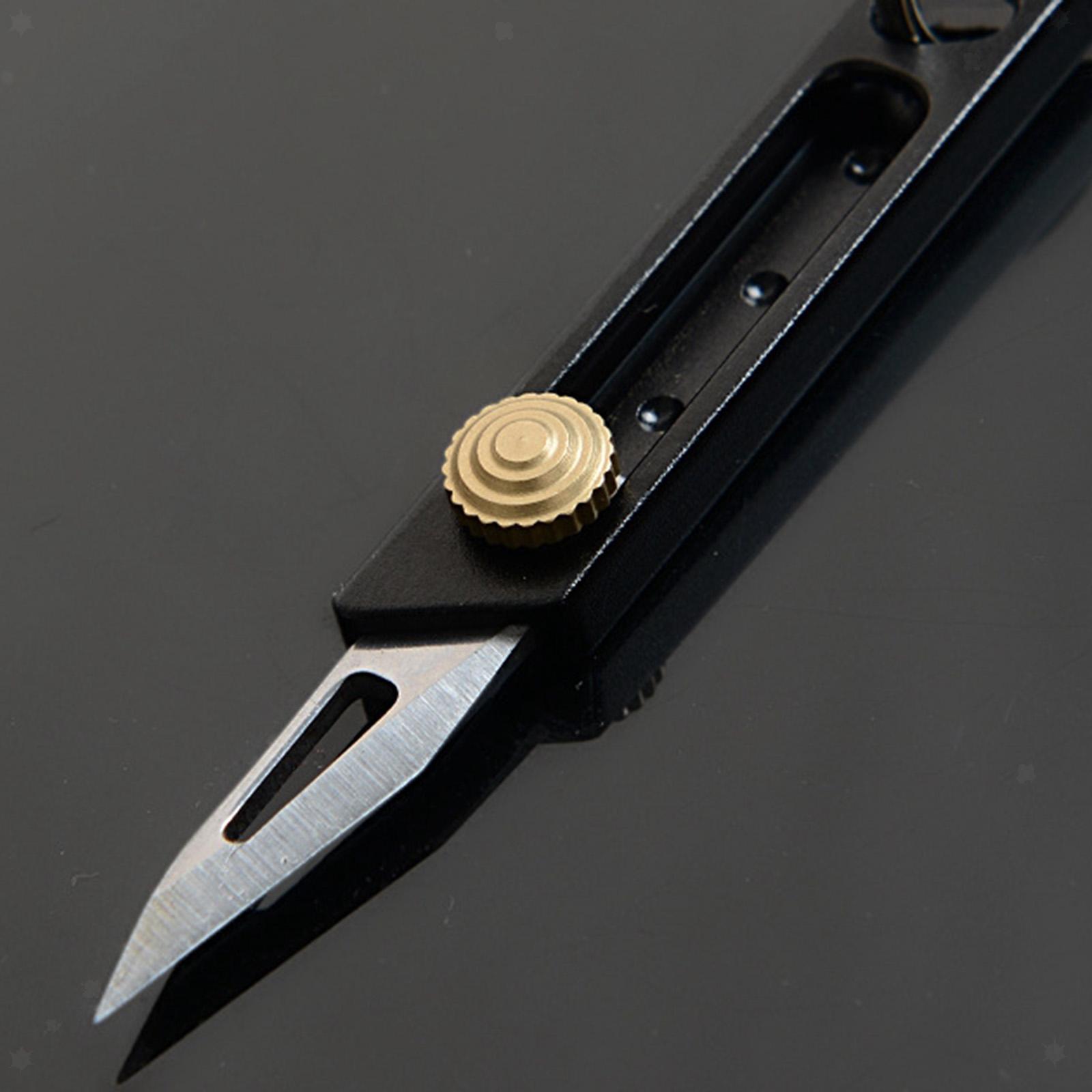 miniatura 9 - Multi Utility Coltello In Alluminio A Scomparsa di Carta di Taglio Tool Box Lama