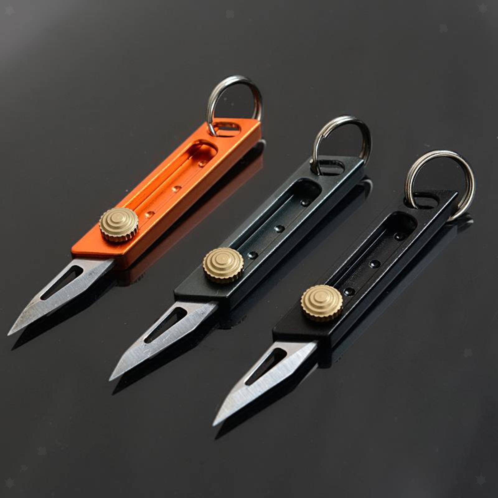 miniatura 5 - Multi Utility Coltello In Alluminio A Scomparsa di Carta di Taglio Tool Box Lama