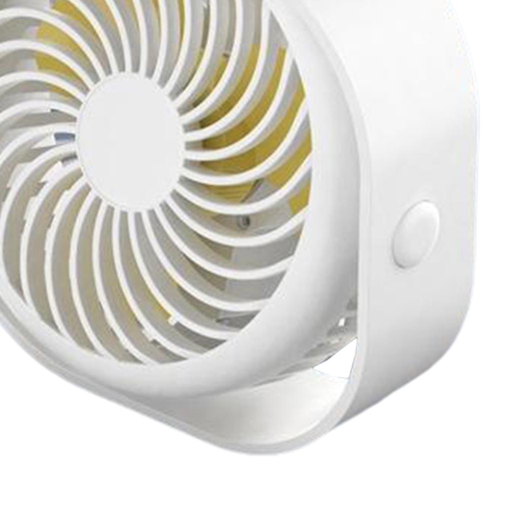 Le-ventilateur-de-bureau-d-039-usb-Compact-3-vitesses-le-vent-fort-de-bureau miniature 3