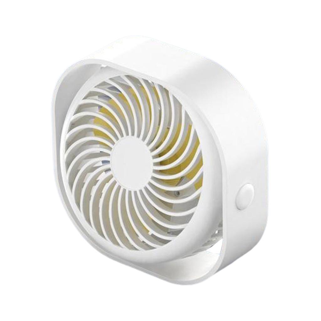 Le-ventilateur-de-bureau-d-039-usb-Compact-3-vitesses-le-vent-fort-de-bureau miniature 4